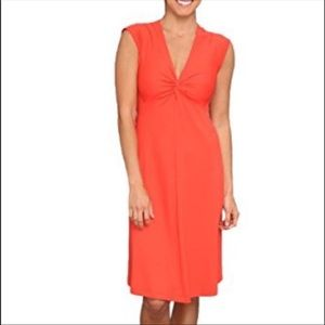 Patagonia Coral Seabrook Bandha Dress Sz XL
